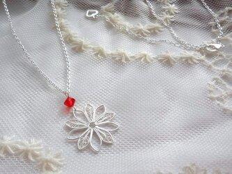 【SVF】snow flowerネックレスの画像