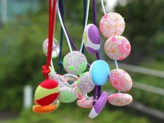 ぶどうネックレス / Flower Pinkの画像