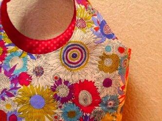 リバティプリント<Small Susanna>★花柄のミニバッグの画像
