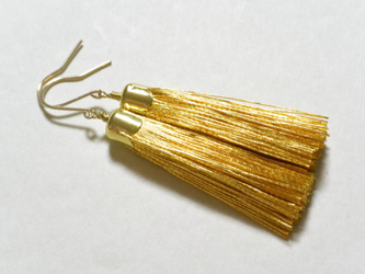 金糸のピアス(14kgfフック)の画像