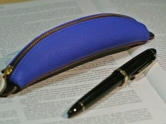 バナナペンケース (青)の画像