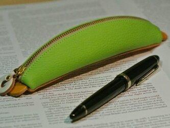 バナナペンケース (黄緑)の画像