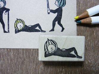 スイカ割り・寝の画像