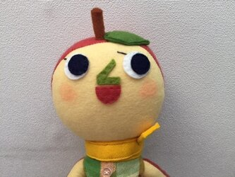 元気なリンゴちゃんの画像