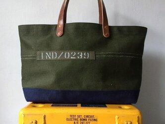 60年代米軍ヴィンテージキャンバストートバッグ0239の画像