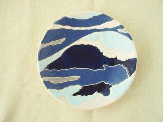 小皿(波)の画像