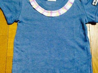 カラフルフリンジt-shirtの画像