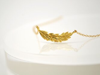 14kgf Feather Necklaceの画像