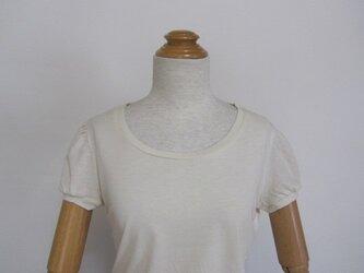 サイズF ママ パフスリーブTシャツ お試し価格の画像
