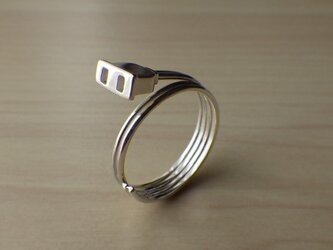 コンセントのリングの画像