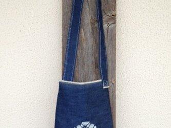 k様オーダー デニムシャツアフタヌーンバッグの画像
