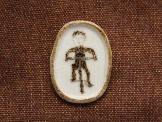 自転車 陶製ブローチ(32)の画像
