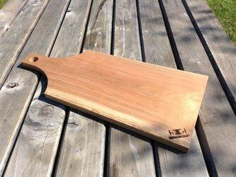桜の木カッティングボードの画像