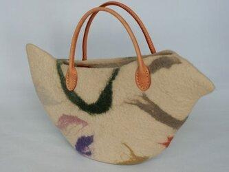 鳥バッグ「Pulcinella」sサイズの画像