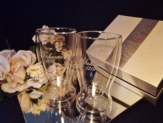ペアサーモビアグラス(名入れ彫刻)化粧箱の画像
