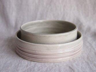 グレーの鉢セットの画像