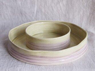 セラドンの重ね鉢の画像
