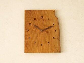 掛け時計 桜材②の画像