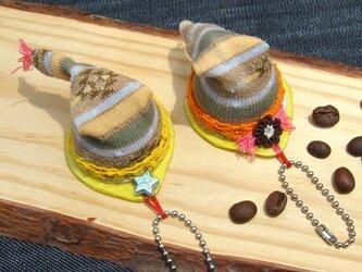 珈琲豆の帽子【ろ】の画像