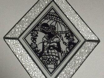 菱形壁掛け「アンブレラ」の画像