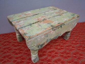 ☆シャビーでお洒落な可愛いミニテーブル&椅子☆の画像