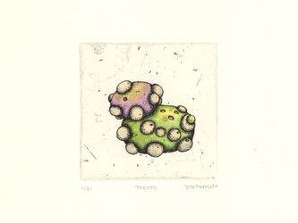 不明物体の銅版画01 カラータイプ1の画像