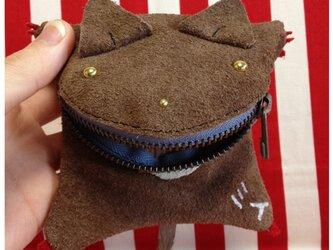 シオマル(キャラクターポーチ)くま茶の画像