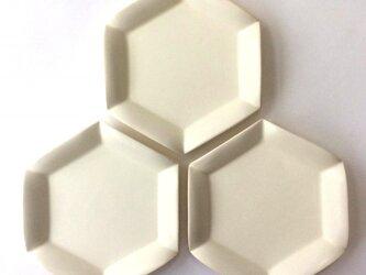 六角花皿(小)の画像