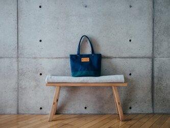 倉敷帆布製トートバッグ(グリーン)の画像