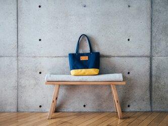倉敷帆布製トートバッグ(マスタード)の画像