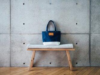 倉敷帆布製トートバッグ(クリーム)の画像
