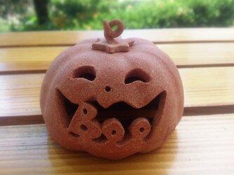【Boo!】ちびハロウィンランタン(小)の画像