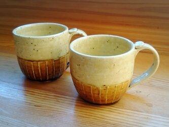 (単品)栗色マグカップの画像