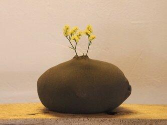 岩からお花が?一輪挿し 1 ※値下げしましたの画像