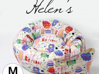 おしゃれペットベッド BIRTHDAY ミニトートバッグ付きの画像