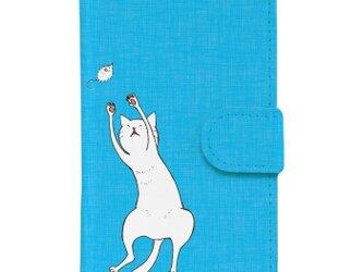 *ジャンプ猫*iPhoneケース*の画像