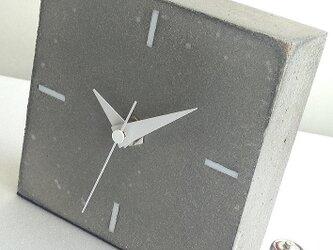 コンクリート置き時計 A-typeの画像