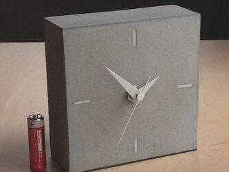 コンクリート置き時計 A-type《送料無料》の画像