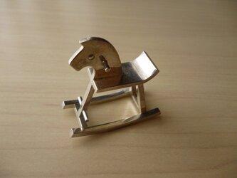 木馬のリングの画像