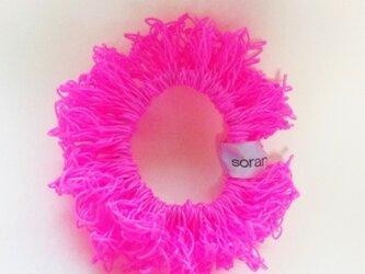 juicy nylon シュシュ pinkの画像