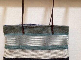手織り 小さなバッグの画像