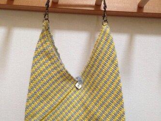 手織りあずま袋 miniの画像