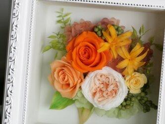 オレンジボックスフレームの画像