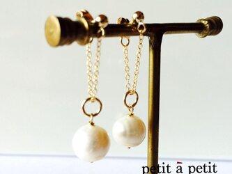 *14kgf chain pearl pierce np1504の画像