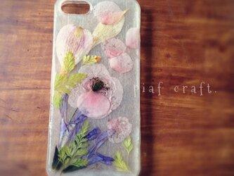iPhone5/5sケース Pink Gardenの画像