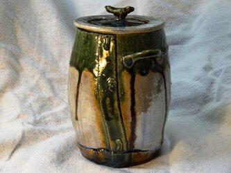 パール釉壺 3の画像