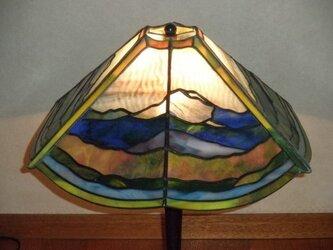 ステンド大型ランプ(連山)の画像