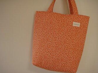 SALE オレンジリーフバッグの画像
