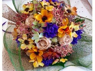 Cosmos autumn bouquetの画像