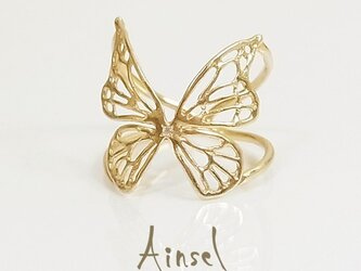 Fairy Butterfly Ring(gold)の画像